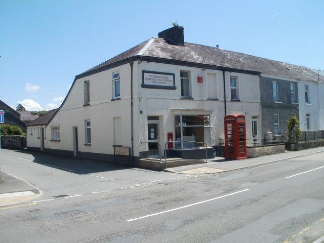 Ffairfach Post Office
