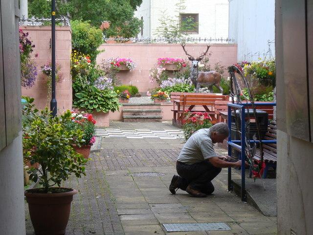Dingwall Museum Courtyard