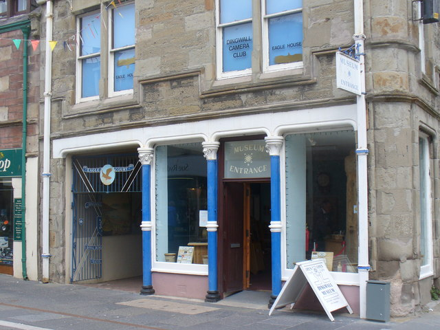 Dingwall Museum Entrance