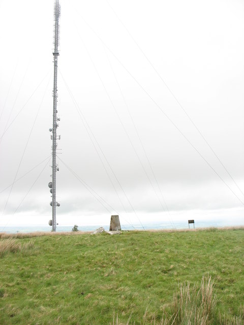 The summit of Sandale Hill