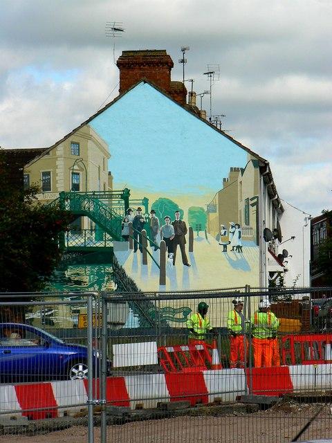 Mural, Medgbury Road, Swindon