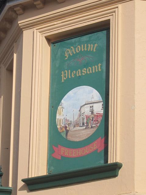Mount Pleasant sign