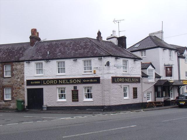 Lord Nelson Pub on Beach Road, Bangor