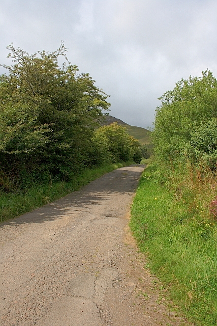 Access Road from Mingary Farm
