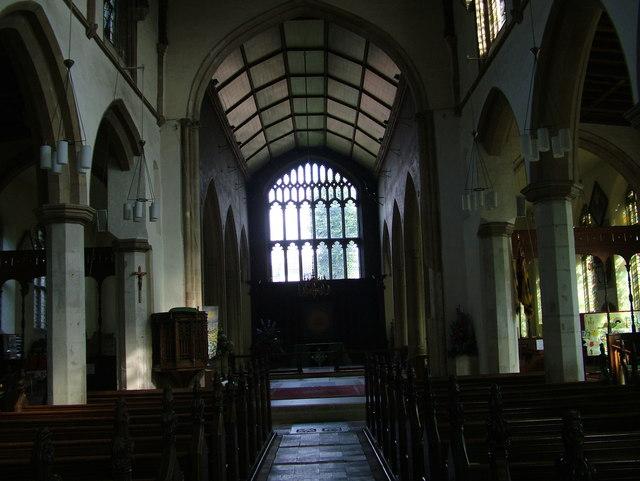Interior of St. Michael's Church, Framlingham