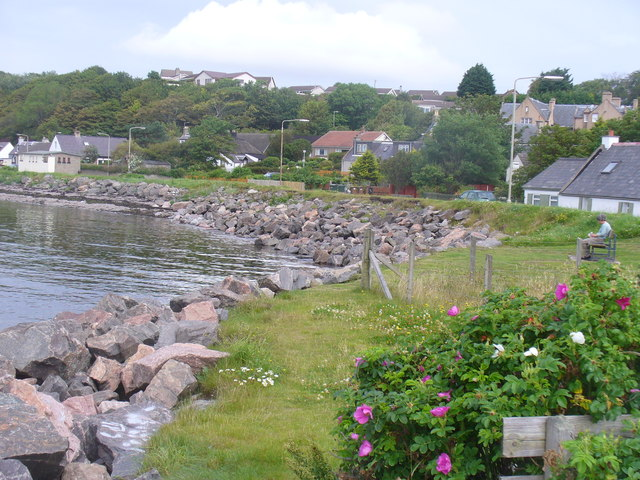 Coastline at Ardersier