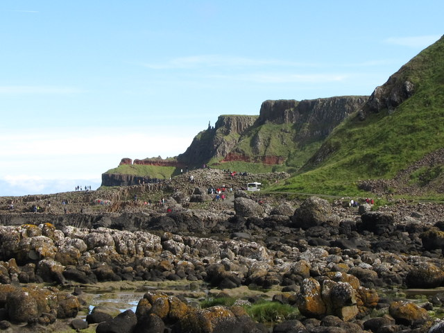 View north-eastwards along the coast from Port Granny