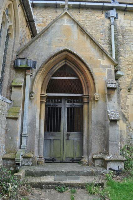 Saintbury Church Doorway