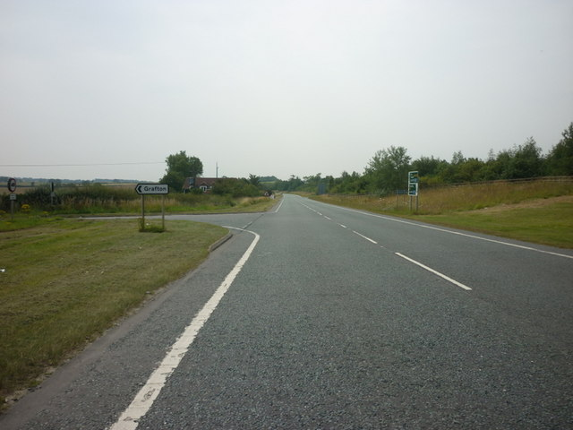 The A168 at Limebar Lane