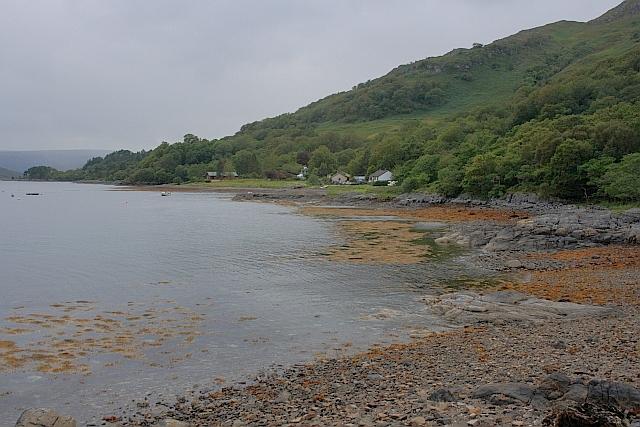Coast West of Rubh' an t-Sionnaich