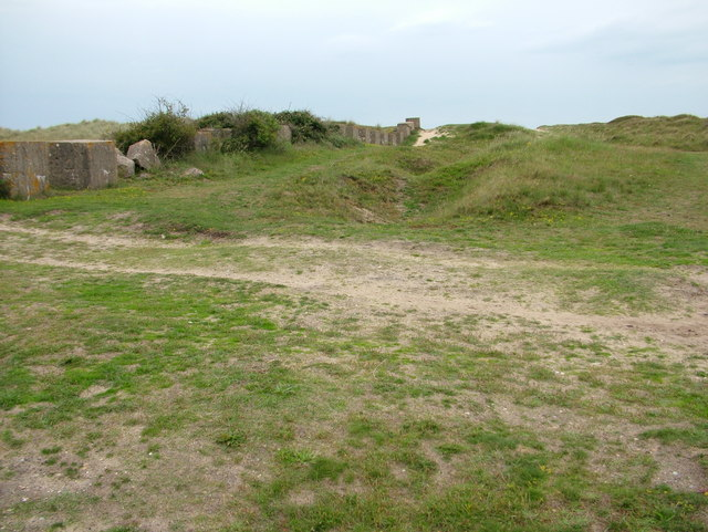 Tank traps, Sizewell beach