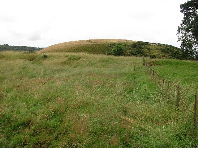 Summit of Cowden Hill