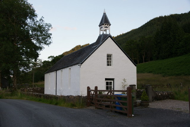 Former church at Letterfearn