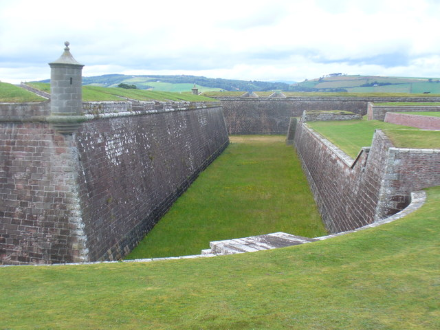 Fort George - Defensive Works