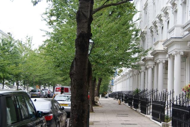 Kensington Palace Gardens Terrace
