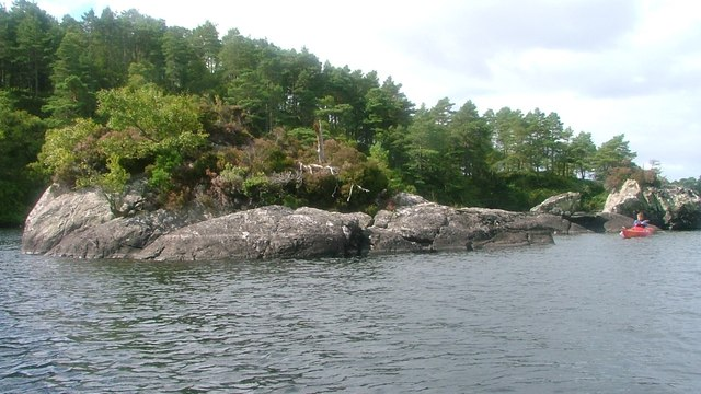 Small Islet with Eilean a' Phidhir Behind