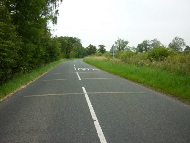 Heading west along Stang Lane, Farnham