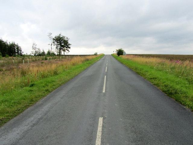 Norwood Lane outside Stainburn Forest