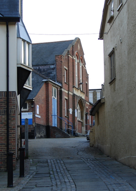 Lane off Market Square