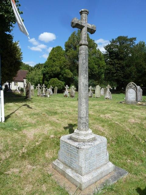 All Saints, Upper Clatford: war memorial