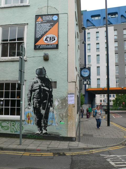 Urban Art, Bristol Spaceman