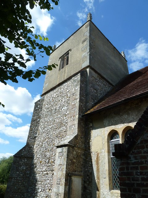 All Saints, Upper Clatford: church tower