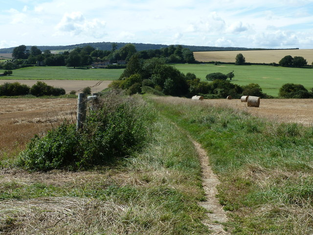 Bridleway to the A286