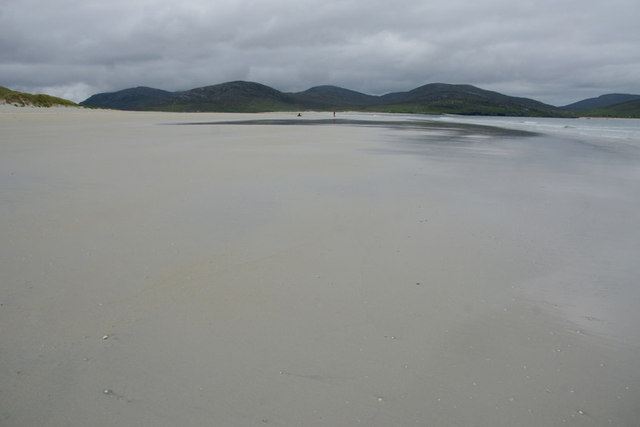 South Harris hills from Traigh Rosamol, Luskentyre (Losgaintir)