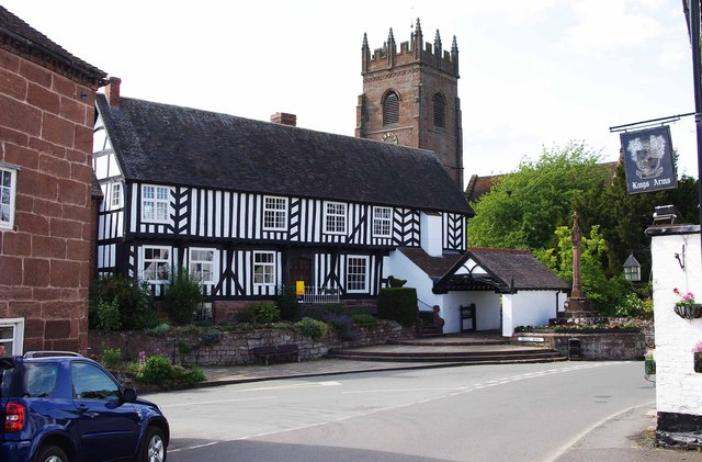 The Old Vicarage, Bull Ring, Claverley