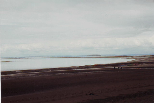 The beach at Burnham on Sea