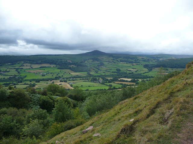 View towards the Sugar Loaf
