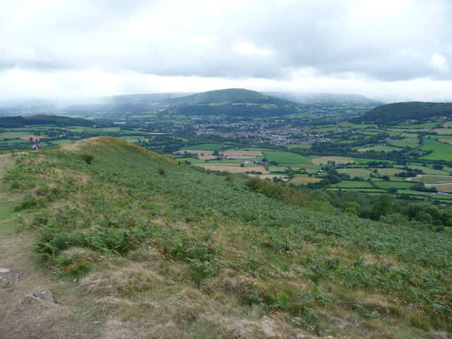 Abergavenny from the Skirrid