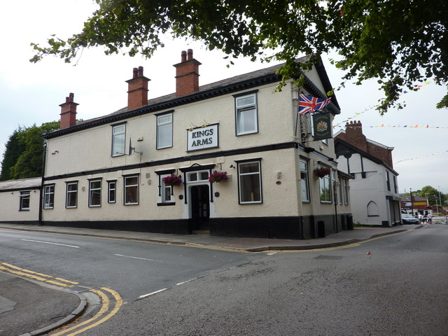 Kings Arms, Queens Street, Middlewich