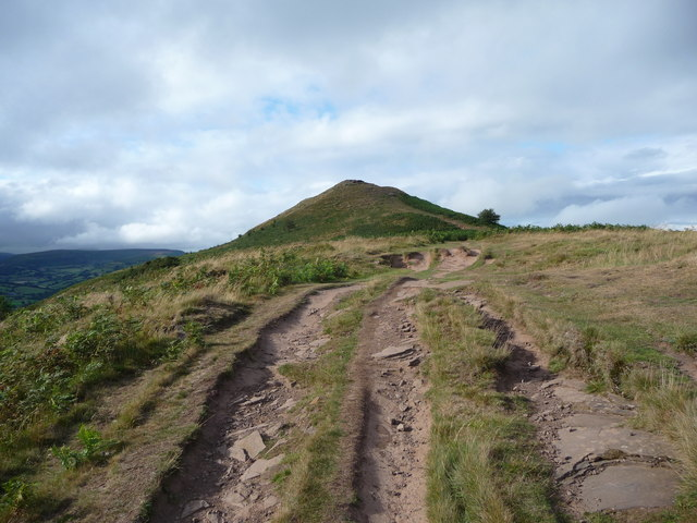 Path up the Skirrid