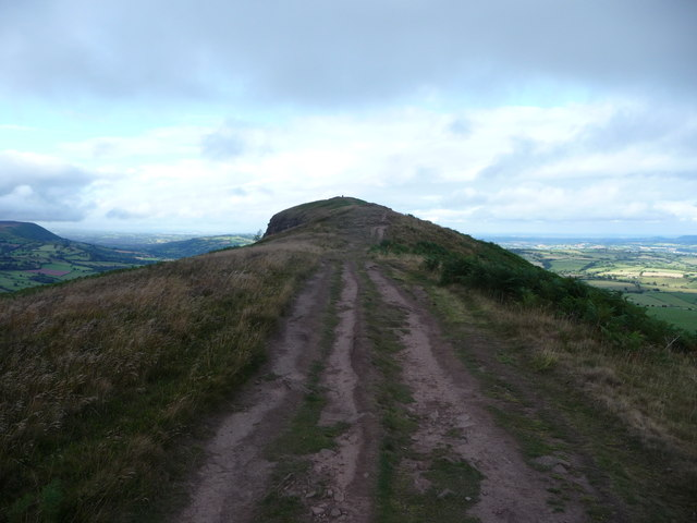 On the Skirrid summit ridge