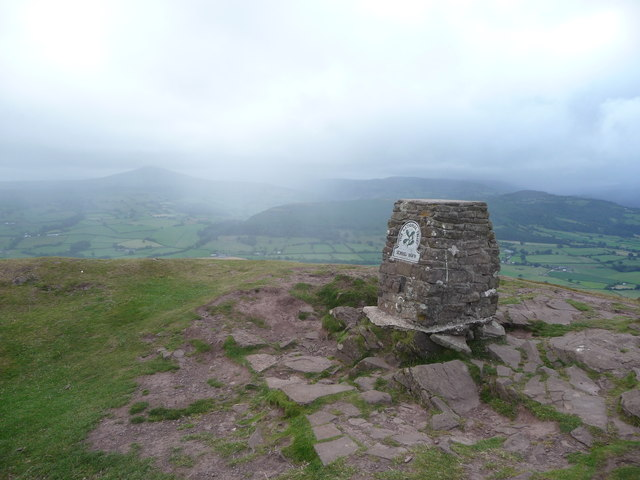 Trig point on the Skirrid