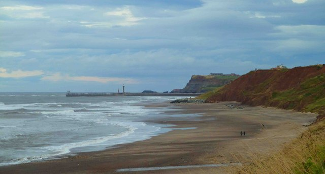 Whitby Harbour from Sandsend