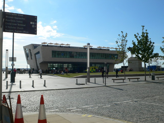 The new Ferry Terminal building, Liverpool
