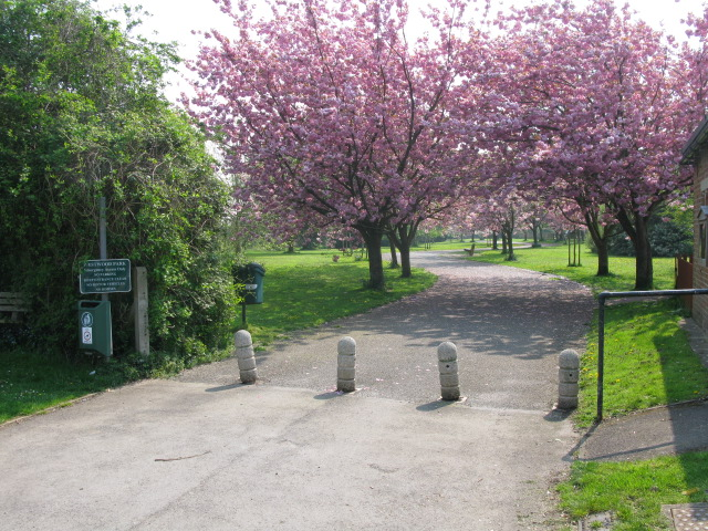 Entrance to Westwood Park