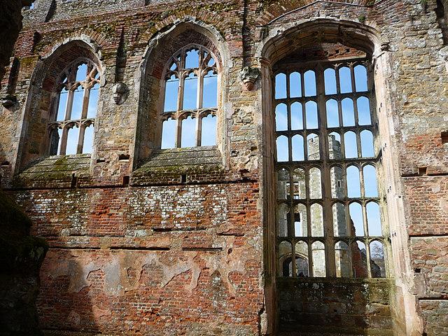 Ruins of Cowdray Castle Midhurst