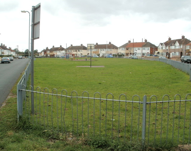 Play area between Thompson Avenue and Royston Crescent, Newport