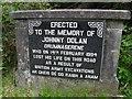 G8955 : Memorial, Jimmy Dolan by Kenneth  Allen