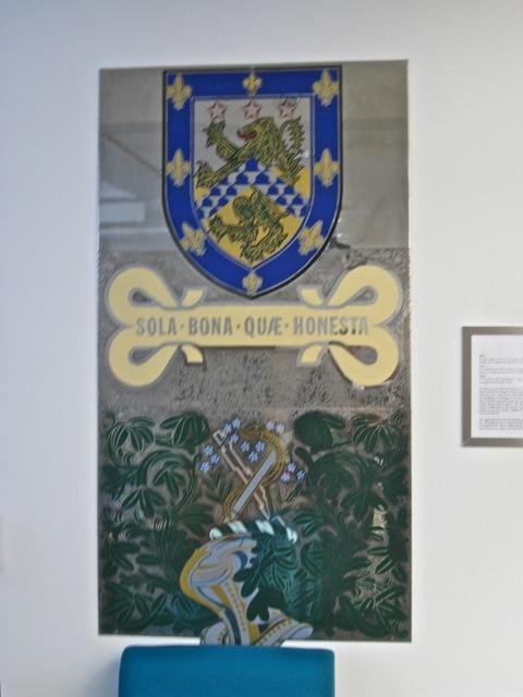 An interpretation of Leamington's crest