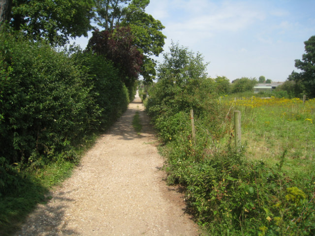 End of Sainfoin Lane