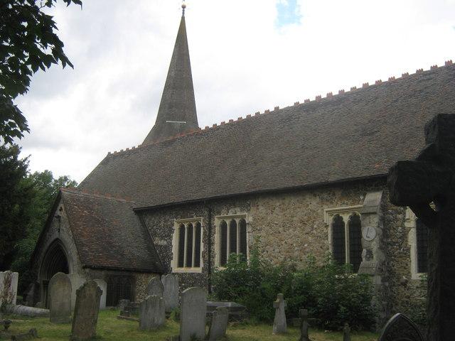Parish Church of St.John the Baptist, Erith
