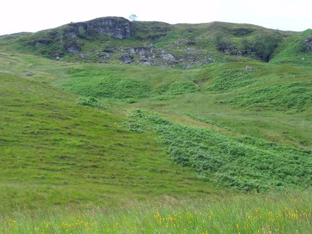 East side of Meal Mor near Loch Katrine