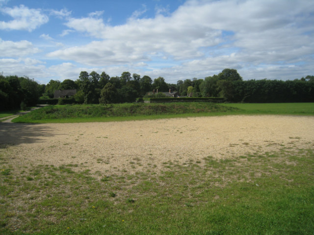 Recreation ground car park