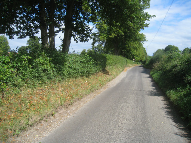 Country lane - Oakley