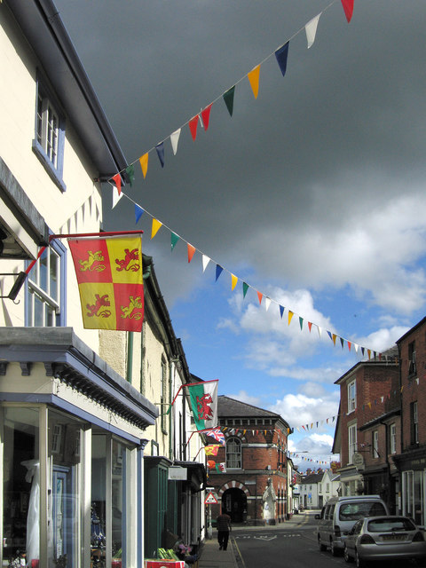 Flags on High Street