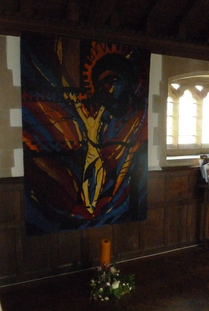 All Saints, Upper Clatford: banner